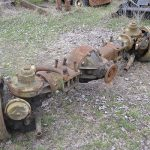 M123 Military Truck_front axle_good used