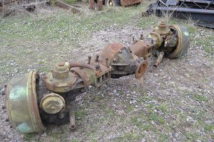M123 Military Truck front axle