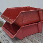 Used parts bins