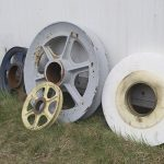 Assorted wire rope cable scheaves