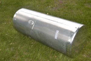 Freightliner fuel tank-Bottom View